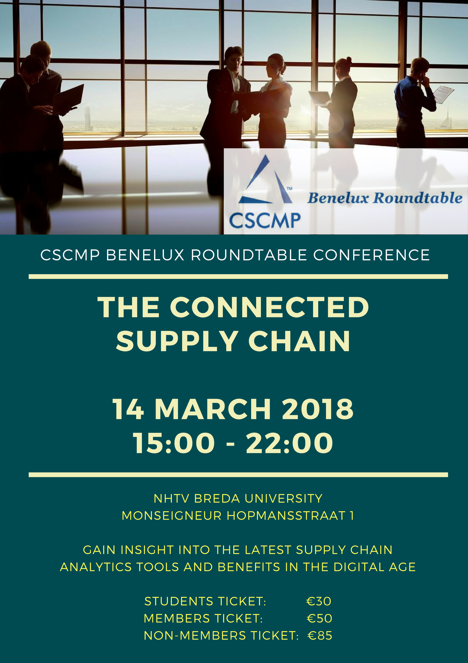 The Connected Supply Chain Event – 14 March 2018